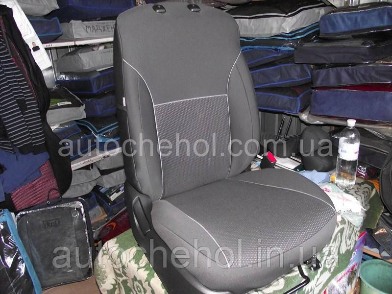 Автомобильные чехлы на Mitshubishi Pajero Sport I, производитель АвтоМир