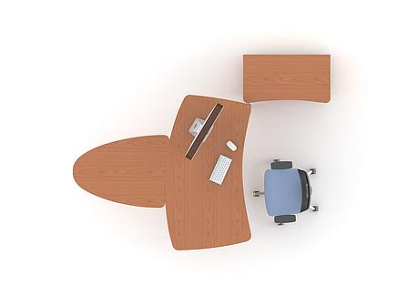Комплект мебели для персонала серии Техно плюс композиция №2 ТМ MConcept, фото 2