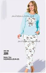Женские пижамы из интерлока отличного качества, цвета
