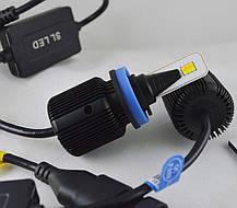 LED лампы в головной свет серии SM1 Цоколь H11, H8, H9, 20W, 2800 Люмен/Комплект 3000/6000K, фото 2