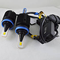 LED лампы в головной свет серии SM1 Цоколь H11, H8, H9, 20W, 2800 Люмен/Комплект 3000/6000K, фото 3