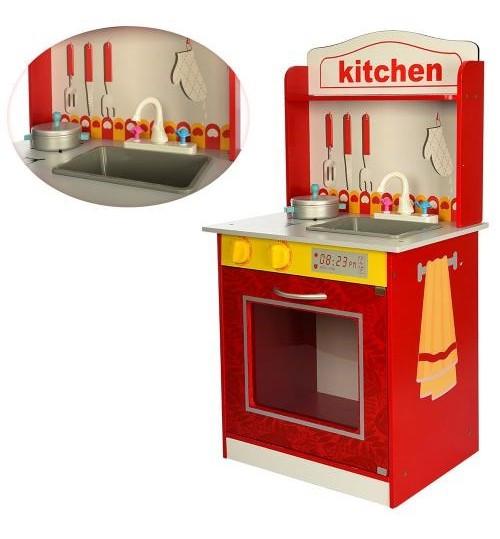 Деревянная игрушка кухня MD 1207