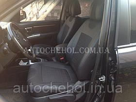 Автомобільні чохли на сидіння Hyundai Santafe 2, cobra