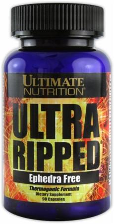 Жиросжигатель Ultimate Nutrition Ultra Ripped Ephedra Free 90 caps, Ультимат Ультра Риппед 90 капсул