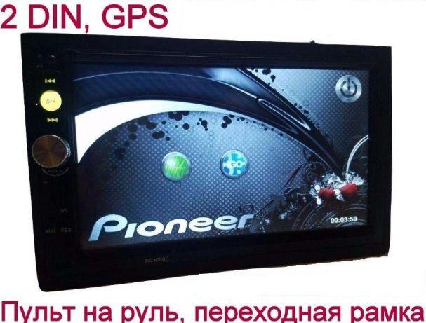 Автомагнитола 7018 2din + GPS