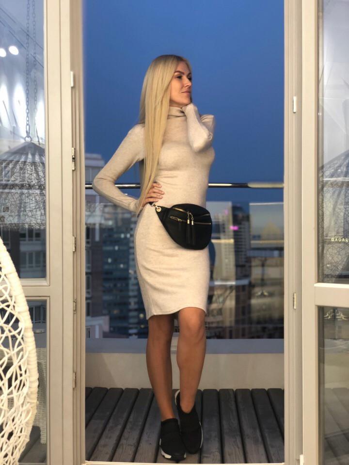 f635a6f24f8 Женское приталенное платье гольф из ангора - Супермаркет одежды  Modamart.com.ua в Одессе