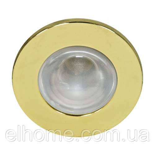 Вбудований світильник  Feron 1713 золото
