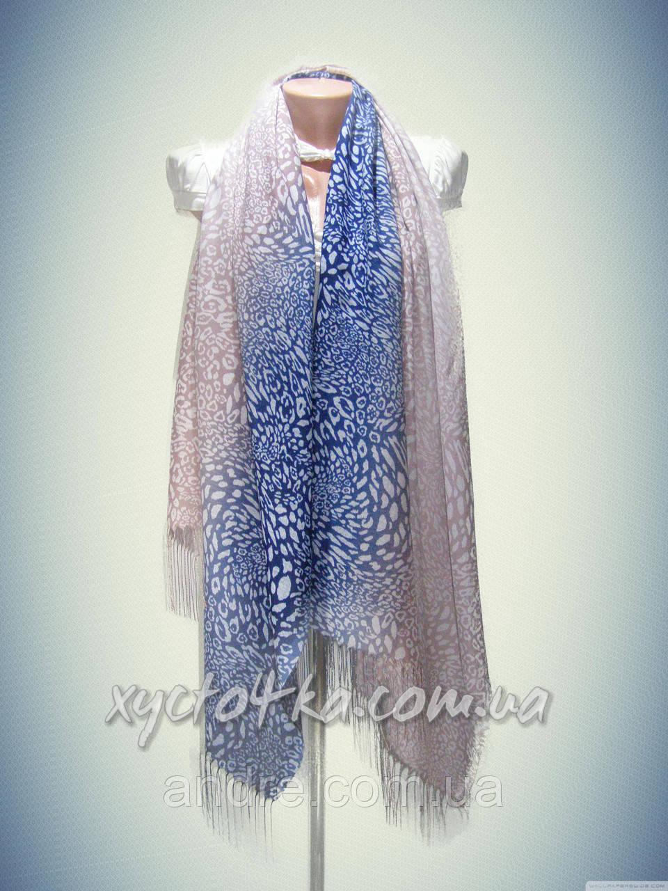 Турецкие шарфы палантины леопардовый принт