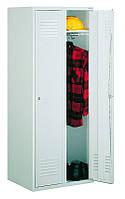 Металлический шкаф на 2 отделения Sum 420 б/п Литпол - сварная конструкция