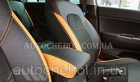 Авточехлы из алькантары и арпатеки на сиденья Kia Sportage 2016, Leather StyLe, MW BROTHERS