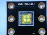 LED диод YGC-200WWW  120w для LED голов и сканеров, фото 3