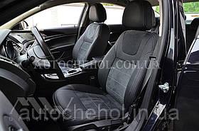 Авточехлы из алькантары и арпатеки на сиденья Opel Insignia, Leather StyLe, MW BROTHERS