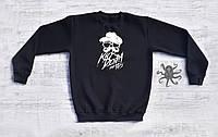 Мужской спортивный свитшот, кофта на флисе Kid Denim, Реплика