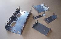 1-местный монтажный хомут/скоба для 10-парных плинтов типа QDF-E , фото 1
