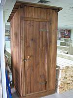 Строительство душевой деревянной кабинки для душа