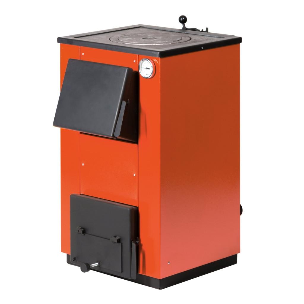 Твердотопливный котел MaxiTerm 14П с варочной поверхностью