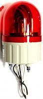 Проблесковый маячок красный с сиреной 24 VDC/АС  ASGB02R