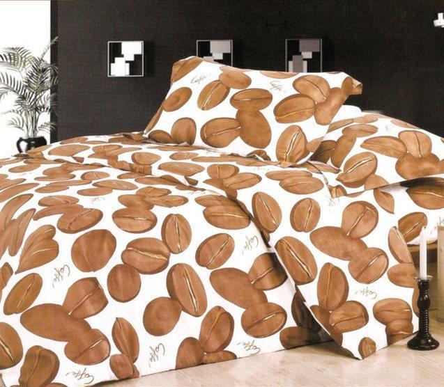 Двуспальный набор постельного белья «Кофейные зерна»