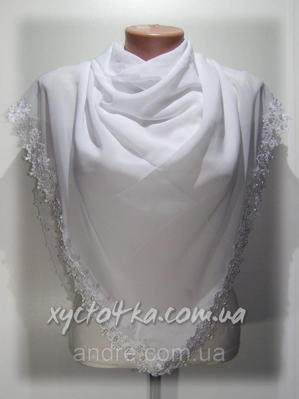 Турецкий шифоновый платок, Жемчужина