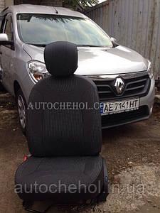 Авточехлы на сиденья Renault Lodgy, Cobra