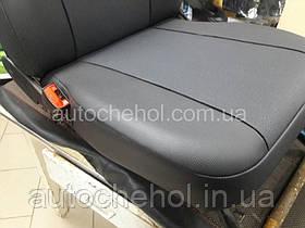 Авточехлы на сиденья ВАЗ 2110, экокожа