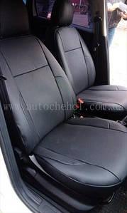 Авточехлы черного цвета на сиденья FIAT LINEA