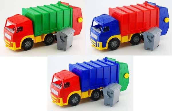 """Машина """"Акрос"""" мусоровоз 0565  (6)  """"COLOR PLAST"""""""