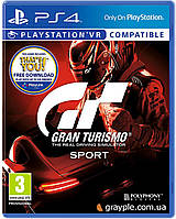 Диск PS4 Gran Turismo (PS4, Russian version), фото 1