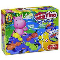 Настольная игра Нагодуй Гіпопотама 7077 (24) FUN GAME, в коробке