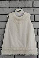Кружевное платье для девочки код: 7003, размеры: от 80 до 116