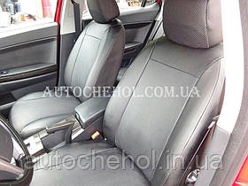 Авточохли екокожа на Mazda 3 II, виробник АвтоМир