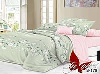Полуторный комплект постельного белья с компаньоном S179