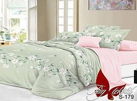 Семейный комплект постельного белья с компаньоном S179