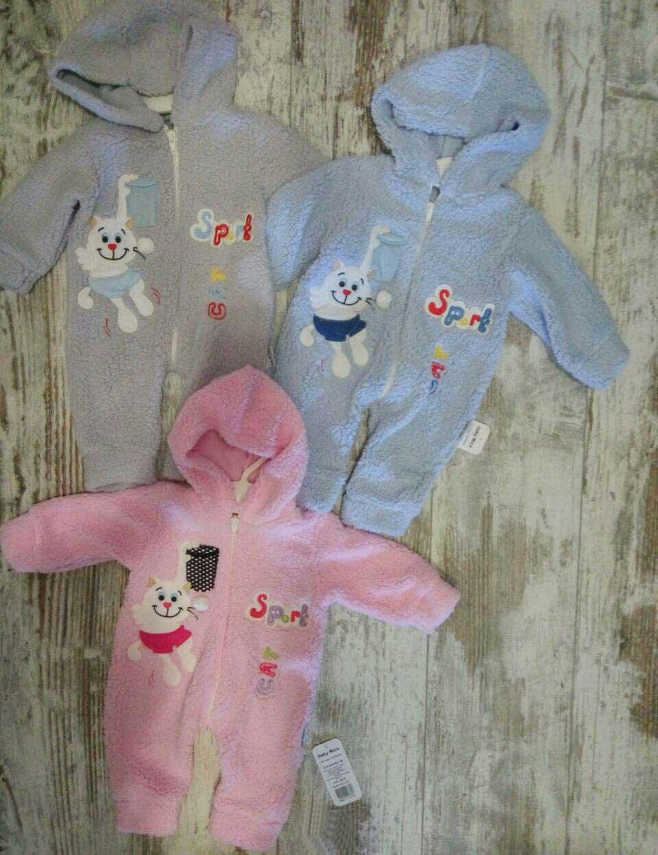 Детский человечек для новорожденных 0-6 месяцев, махра