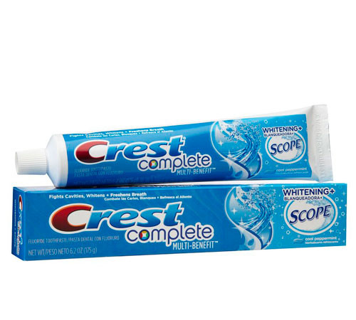 Crest Complete Whitening + Scope 175г зубная паста