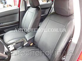 Авточехлы экокожа на Mitshubishi Lancer X 2, производитель АвтоМир