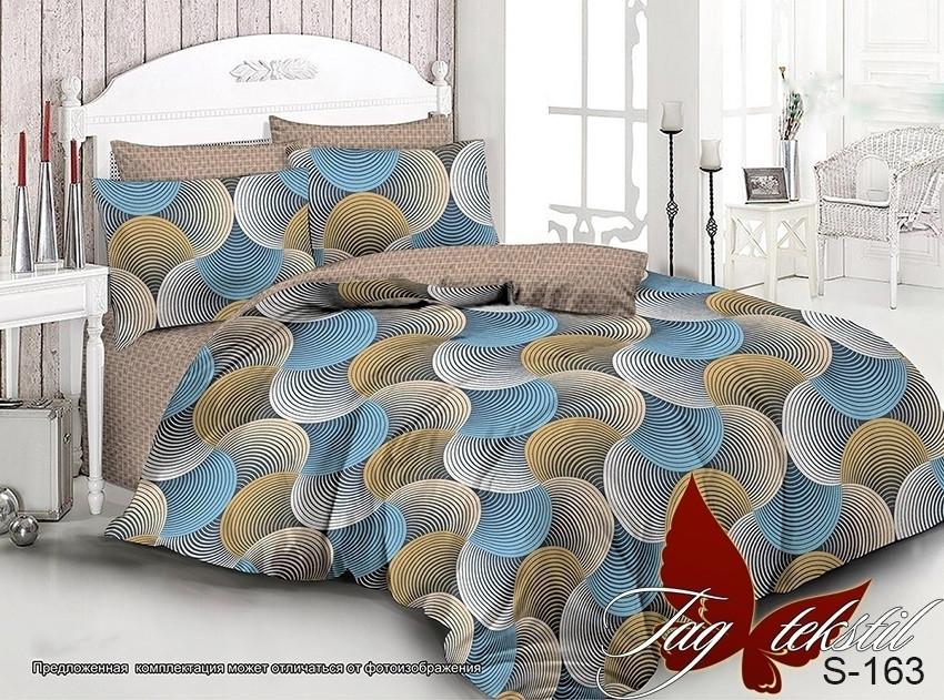 Семейный комплект постельного белья с компаньоном S163
