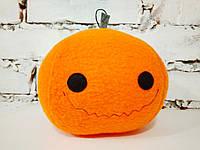 Мягкая игрушка Strekoza Добрая Тыква 13 см оранжевый ручная работа