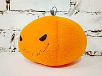 Мягкая игрушка Strekoza Тыква 13 см оранжевый ручная работа