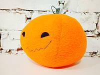 Мягкая игрушка Strekoza Веселая Тыква 13 см оранжевый ручная работа