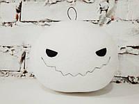 Мягкая игрушка Strekoza Тыква 13 см белый ручная работа