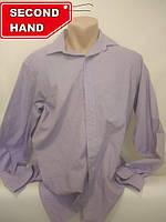 Рубашка мужская 50/XL. Внесезонная;