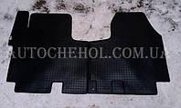 Качественные автомобильные резиновые коврики в салон Opel vivaro, польша