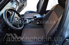 Качественные автомобильные чехлы на сиденья BMW 3 E36, красная нить, Premium style