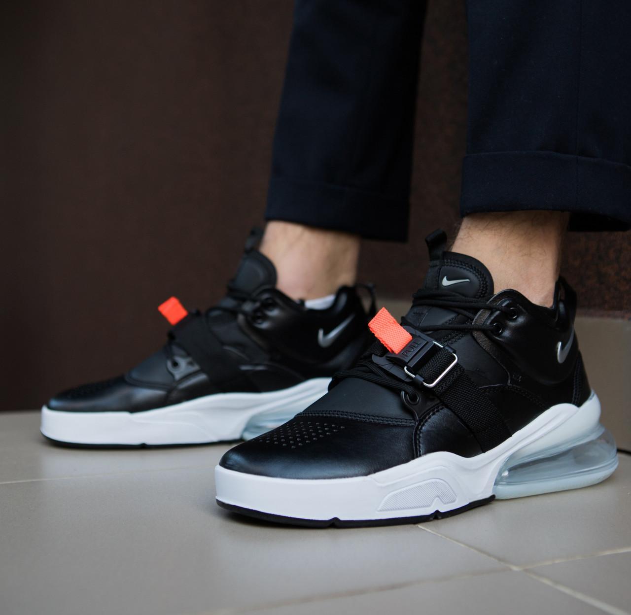 Мужские кроссовки Nike Air Force 270 Black White  продажа, цена в ... 5c5310b433d