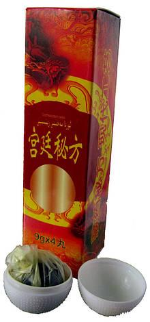 Секретный рецепт дворца (Золотой дракон)- пилюли для мужского здоровья 32 шт., фото 2