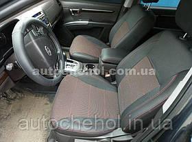 Якісні автомобільні чохли на сидіння Hyundai Santafe 2, Premium style