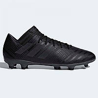 Бутсы adidas Nemeziz 17.3 FG Black Black - Оригинал cd10ed54eacf4