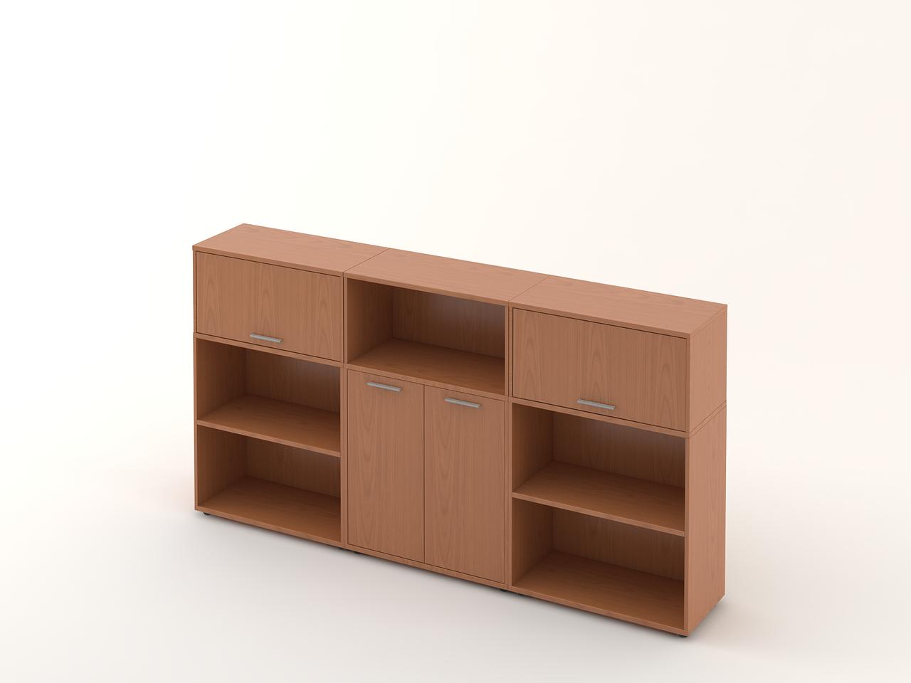 Комплект мебели для персонала серии Техно плюс композиция №13 ТМ MConcept