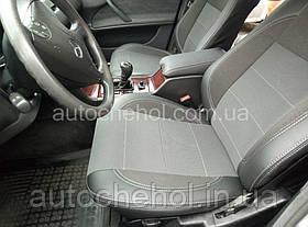Качественные автомобильные чехлы на сиденья Mercedes W 210,серая нить, Premium style
